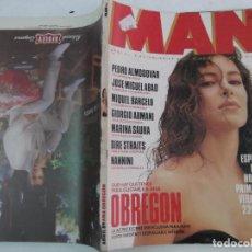 Coleccionismo de Revistas y Periódicos: MAN Nº 18, POSTER ANA OBREGON, PEDRO ALMODOVAR, MARINA SAURA, PAMELA PRATI, DANIELA ROSASCO. Lote 289790343