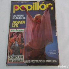Coleccionismo de Revistas y Periódicos: PAPILLON Nº 10, POSTER AGATA LYS, CANIBALES SIGLO XX, EL PAIS DE LOS LEPROSOS, VICTORIA ABRIL,. Lote 289805843