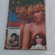 Coleccionismo de Revistas y Periódicos: PAPILLON Nº 36, POSTER PILAR BAYONA, ANTONIO AMAYA, CARINA CAROLL, MONICA REY, PATRICIA WEBLEY,. Lote 289807163