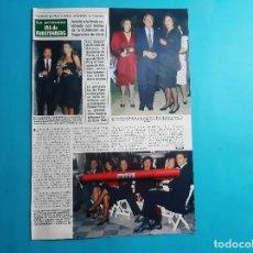 Coleccionismo de Revistas y Periódicos: IRA FURSTENBERG- EZRA HAH - CARI LAPIQUE - Y OTROS -RECORTE 2 PAG - AÑO 1986. Lote 289928463