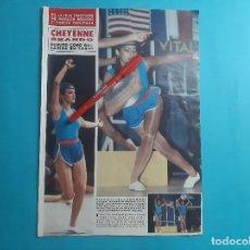 Coleccionismo de Revistas y Periódicos: CHEYENNE BRANDO HIJA DE MARLON Y TARITA TERIIPAYA DEBUTA COMO BAILARINA -RECORTE 2 PAG - AÑO 1986. Lote 289929988