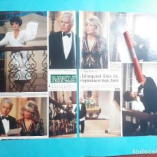 Coleccionismo de Revistas y Periódicos: FOTOS FINAL DINASTIA- ALEXIS-BLAKE CARRINGTON- KRYSTLE -RECORTE 3 PAG - AÑO 1986. Lote 289931118