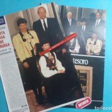 Coleccionismo de Revistas y Periódicos: MARTA LUISA NORUEGA RECIBIO LA CONFIRMACION -RECORTE 3 PAG - AÑO 1986. Lote 289931438