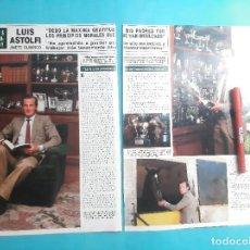 Coleccionismo de Revistas y Periódicos: LUIS ASTOLFI - ENTREVISTA -RECORTE 3 PAG - AÑO 1986. Lote 289932153