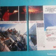 Coleccionismo de Revistas y Periódicos: SIMON LE BON- VUELTA AL MUNDO- Y SU ESPOSA YASMINE -RECORTE 4 PAG - AÑO 1986. Lote 289944333