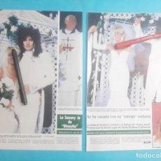 Coleccionismo de Revistas y Periódicos: HEAT HER LOCKLEAR (SAMMY JO DINASTIA) SE CASA TOMMY LEE - RECORTE 7 PAG - AÑO 1986. Lote 289948128