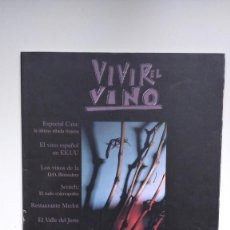 Coleccionismo de Revistas y Periódicos: VIVIR EL VINO Nº 22 - MAYO 2002. Lote 290002993