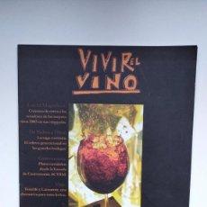 Coleccionismo de Revistas y Periódicos: VIVIR EL VINO Nº 28 - DICIEMBRE 2002 / ENERO 2003. Lote 290003083