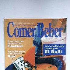 Coleccionismo de Revistas y Periódicos: COCINA Y HOGAR, LA REVISTA DEL BUEN COMER Y BEBER - Nº 391 - ABRIL 1998. Lote 290004738
