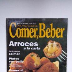 Coleccionismo de Revistas y Periódicos: COCINA Y HOGAR, LA REVISTA DEL BUEN COMER Y BEBER - Nº 393 - JUNIO 1998. Lote 290004983