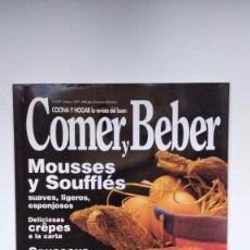 Coleccionismo de Revistas y Periódicos: COCINA Y HOGAR, LA REVISTA DEL BUEN COMER Y BEBER - Nº 379 - MARZO 1997. Lote 290005073