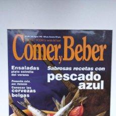 Coleccionismo de Revistas y Periódicos: COCINA Y HOGAR, LA REVISTA DEL BUEN COMER Y BEBER - Nº 394 - JULIO / AGOSTO 1998. Lote 290005278