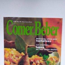 Coleccionismo de Revistas y Periódicos: COCINA Y HOGAR, LA REVISTA DEL BUEN COMER Y BEBER - Nº 390 - MARZO 1998. Lote 290005443