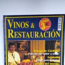 Coleccionismo de Revistas y Periódicos: VINOS & RESTAURACIÓN Nº 2 - 2002. Lote 290005623