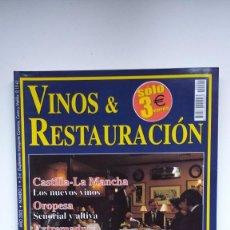 Coleccionismo de Revistas y Periódicos: VINOS & RESTAURACIÓN Nº 1 - 2002. Lote 290005683