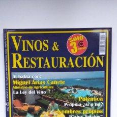 Coleccionismo de Revistas y Periódicos: VINOS & RESTAURACIÓN Nº 3 - 2002. Lote 290005758