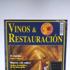 Coleccionismo de Revistas y Periódicos: VINOS & RESTAURACIÓN Nº 4 - 2003. Lote 290005808