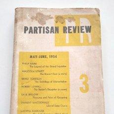 Coleccionismo de Revistas y Periódicos: PARTISAN REVIEW, VOLUME 19, NUMBER 3 (XIX. MAY - JUNE 1954).. Lote 290024213