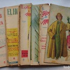 Coleccionismo de Revistas y Periódicos: EL HOGAR Y LA MODA, 18 ANTIGUAS REVISTAS, AÑOS 1950, VER FOTOS ADICIONALES. Lote 291446888