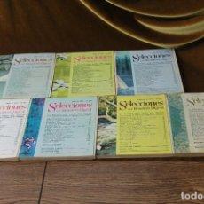 Coleccionismo de Revistas y Periódicos: SELECCIONES DEL READERS DIGEST,1972,SIETE NÚMEROS.. Lote 293413843