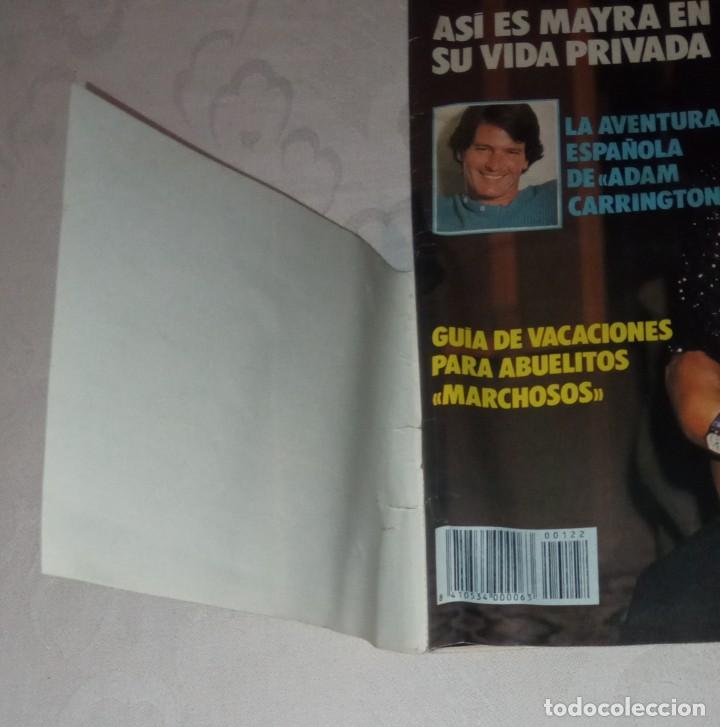 Coleccionismo de Revistas y Periódicos: Tele indiscreta num 123. Mayra Gómez Kemp- Mercedes Sampietro- Robert Redford +Póster + adhesivos - Foto 3 - 293537623