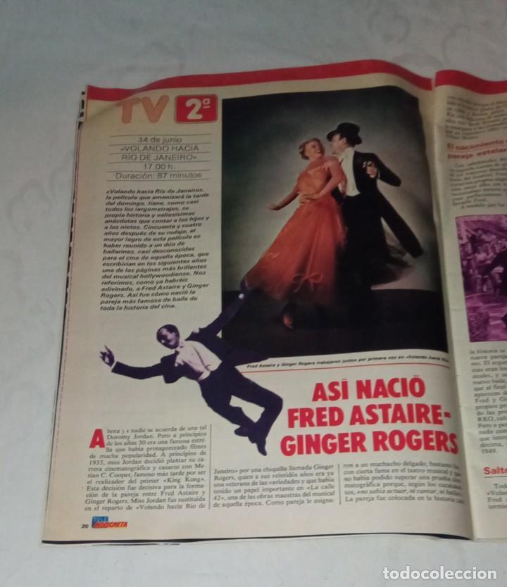 Coleccionismo de Revistas y Periódicos: Tele indiscreta num 123. Mayra Gómez Kemp- Mercedes Sampietro- Robert Redford +Póster + adhesivos - Foto 6 - 293537623