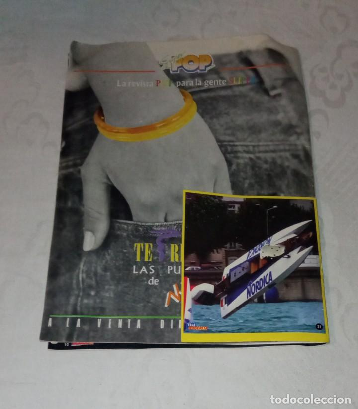 Coleccionismo de Revistas y Periódicos: Tele indiscreta num 123. Mayra Gómez Kemp- Mercedes Sampietro- Robert Redford +Póster + adhesivos - Foto 14 - 293537623