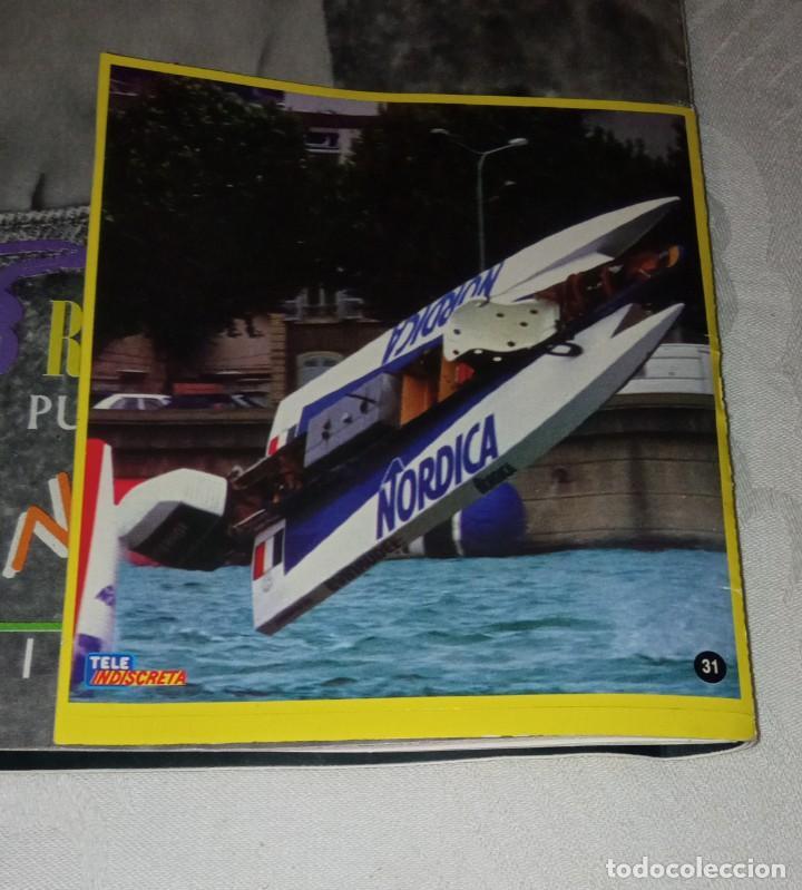 Coleccionismo de Revistas y Periódicos: Tele indiscreta num 123. Mayra Gómez Kemp- Mercedes Sampietro- Robert Redford +Póster + adhesivos - Foto 15 - 293537623