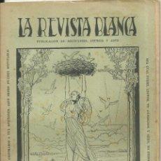 Coleccionismo de Revistas y Periódicos: 3837.- ANARQUISMO - LA REVISTA BLANCA - FEDERICO URALES-FEDERICA MONTSENY. Lote 293544608