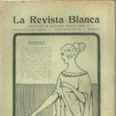 Coleccionismo de Revistas y Periódicos: 3837.- ANARQUISMO - LA REVISTA BLANCA - FEDERICO URALES-FEDERICA MONTSENY. Lote 293572563