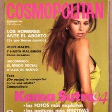 Coleccionismo de Revistas y Periódicos: COSMOPOLITAN N° 9-94 (SEPTIEMBRE 1994). NIKI TAYLOR, CHUS BURÉS, ANTXON URRUSOLO,…. Lote 293646923
