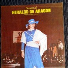 Coleccionismo de Revistas y Periódicos: SEMANAL HERALDO ARAGÓN Nº92 JUNIO 1984 - NAJNUDEL ENTRENADOR CAI ZARAGOZA BALONCESTO BASKET. Lote 293763988