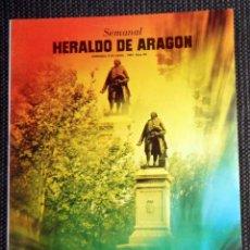Coleccionismo de Revistas y Periódicos: SEMANAL HERALDO ARAGÓN Nº82 ABRIL 1984 - ENTREVISTA FERNANDO ARCEGA CAI ZARAGOZA BALONCESTO BASKET. Lote 293765198