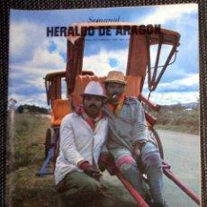 Coleccionismo de Revistas y Periódicos: SEMANAL HERALDO ARAGÓN Nº125 FEBRERO 1985 - ROCK MÚSICA EN PERIFERIA LOQUILLO Y TROGLODITAS. VOCODER. Lote 293766133