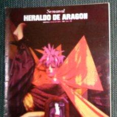 Coleccionismo de Revistas y Periódicos: SEMANAL HERALDO ARAGÓN Nº109 OCTUBRE 1984 - ENTREVISTA A SALVADOR DALÍ - VOCODER POP ARAGONES URIBE. Lote 293766848