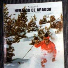 Coleccionismo de Revistas y Periódicos: SEMANAL HERALDO ARAGÓN Nº123 ENERO 1985 - LIBROS DE MÚSICA MECANO MADONNA - MONTSERRAT CABALLÉ. Lote 293767523
