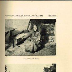 Collezionismo di Riviste e Giornali: 1931 BUTLLETÍ DEL CENTRE EXCURSIONISTA DE CATALUNYA Nº 439 PARADÍS 10, BARCELONA. Lote 293807873