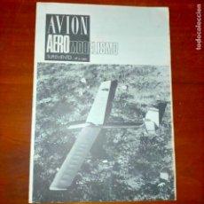 Coleccionismo de Revistas y Periódicos: 1981 AVION AEREO MODELISMO AEREOMODELISMO Nº2 RADIO CONTROL VUELO CIRCULAR VUELO LIBRE PORTADA OCELL. Lote 293961073