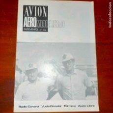 Coleccionismo de Revistas y Periódicos: 1980 AVION AEREO MODELISMO AEREOMODELISMO Nº11 RADIO CONTROL VUELO CIRCULAR TERMICA VUELO LIBRE. Lote 293961283