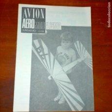 Coleccionismo de Revistas y Periódicos: 1980 AVION AEREO MODELISMO AEREOMODELISMO Nº9 PORTADA YELOW JACKET. Lote 293961853