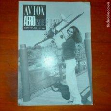Coleccionismo de Revistas y Periódicos: 1980 AVION AEREO MODELISMO AEREOMODELISMO Nº10 PORTADA FLY BABY. Lote 293962048