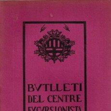 """Coleccionismo de Revistas y Periódicos: 1923/24 (CATALÁN) LOTE 19 BUTLLETÍ DEL CENTRE EXCURSIONISTA """"AVANT"""" - MANRESA (3). Lote 294063013"""