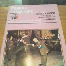 Coleccionismo de Revistas y Periódicos: REVISTA TIERRA, MAR AIRE.BIMESTRAL.NUM.128.ENERO-FEBRERO 1981.AÑI XXIII.. Lote 294172178