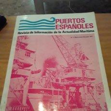 Coleccionismo de Revistas y Periódicos: PUERTOS ESPAÑOLES.REVISTA DE INFORMACION DE LA ACTUALIDAD MARITIMA.N.4,SEPT-OCT.1971.. Lote 294176488