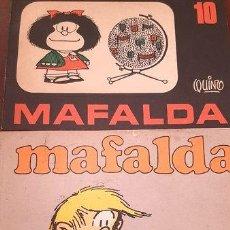 Coleccionismo de Revistas y Periódicos: REVISTA MAFALDA NRO4 1986 Y NRO10 1974SIEMPRE VIGENTE ED. 1974. Lote 294463918