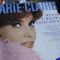 Coleccionismo de Revistas y Periódicos: REVISTA MARIE CLAIRE GINA LOLLOBRIGIDA VIRNA LISI HUMPHEY BOGAT AUDREY HEPBURN URSULA ANDRESS 1965. Lote 294829203