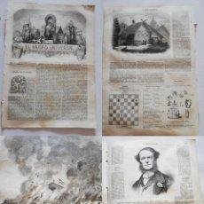 Coleccionismo de Revistas y Periódicos: EL MUSEO UNIVERSAL: 1867 AÑO XI, Nº17. GRABADOS: INCENDIO CONSERVATORIO, EL PATIVO ALDEA RUSA, ALMI. Lote 294831073