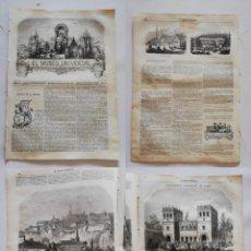 Coleccionismo de Revistas y Periódicos: EL MUSEO UNIVERSAL: 1867 AÑO XI, Nº18.GRABADOS: LUXEMBURGO, EXPO. PARÍS PABELLÓN ESPAÑA, PALACIO BEY. Lote 294832378