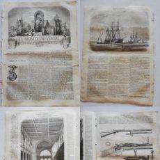 Coleccionismo de Revistas y Periódicos: EL MUSEO UNIVERSAL: 1867 AÑO XI, Nº19.GRABADOS: EXPOSICIÓN UNIVERSAL, FUSIL CHASSEPOT, BARCOS VAPOR. Lote 294834798