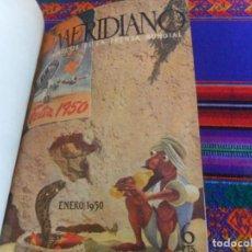 Coleccionismo de Revistas y Periódicos: MERIDIANO SINTESIS DE LA PRENSA MUNDIAL NºS 85, 86, 87, 88, 89 Y 90. ENERO 1950.. Lote 294851923